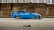 BMW M4 with HRE Classic 303 Wheels in Brushed Dark Clear 28 190x107 TAG Motorsports BMW M3 F80 mit HRE Classic 300 & 303 Alu´s