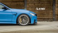 BMW M4 with HRE Classic 303 Wheels in Brushed Dark Clear 29 190x107 TAG Motorsports BMW M3 F80 mit HRE Classic 300 & 303 Alu´s