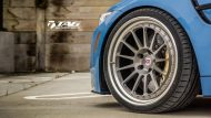 BMW M4 with HRE Classic 303 Wheels in Brushed Dark Clear 6 190x107 TAG Motorsports BMW M3 F80 mit HRE Classic 300 & 303 Alu´s