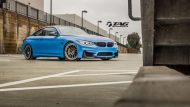 BMW M4 with HRE Classic 303 Wheels in Brushed Dark Clear 7 190x107 TAG Motorsports BMW M3 F80 mit HRE Classic 300 & 303 Alu´s