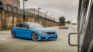 BMW M4 with HRE Classic 303 Wheels in Brushed Dark Clear 8 190x107 TAG Motorsports BMW M3 F80 mit HRE Classic 300 & 303 Alu´s