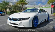 BMW i8 Folierung mattwei%C3%9F Carbon Tuning 4 190x111 Wheels Boutique Folierung und HRE Wheels am BMW i8