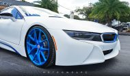 BMW i8 Folierung mattweiß Carbon Tuning 5 190x111 Wheels Boutique Folierung und HRE Wheels am BMW i8