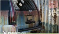 Cadillac Escalade Rust Chrome 4 190x111 Cadillac Escalade Rat Look Folierung by Metro Wrapz