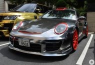 Chrome Porsche 997 GT2 0 190x130 1.300 PS am Rad   Porsche 997 GT2 von Oakley Design