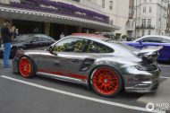 Chrome Porsche 997 GT2 2 190x126 1.300 PS am Rad   Porsche 997 GT2 von Oakley Design
