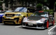Chrome Porsche 997 GT2 3 190x119 1.300 PS am Rad   Porsche 997 GT2 von Oakley Design