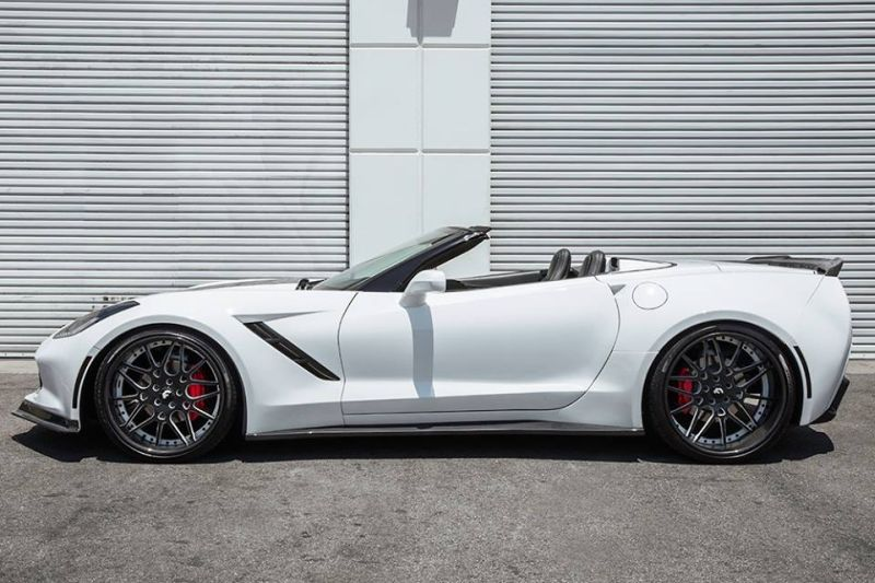 chevrolet corvette c7 tuning by forgiato wheels. Black Bedroom Furniture Sets. Home Design Ideas