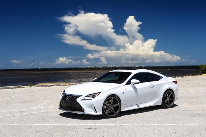 Exclusive Motoring Lexus RC350 F Sport On Vossen CV3 wheels 1 Dezent   Exclusive Motoring Lexus RC350 mit Vossen CV3