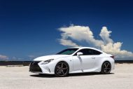 Exclusive Motoring Lexus RC350 F Sport On Vossen CV3 wheels 2 190x127 Dezent   Exclusive Motoring Lexus RC350 mit Vossen CV3