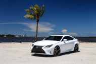 Exclusive Motoring Lexus RC350 F Sport On Vossen CV3 wheels 4 190x127 Dezent   Exclusive Motoring Lexus RC350 mit Vossen CV3