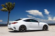 Exclusive Motoring Lexus RC350 F Sport On Vossen CV3 wheels 6 190x127 Dezent   Exclusive Motoring Lexus RC350 mit Vossen CV3