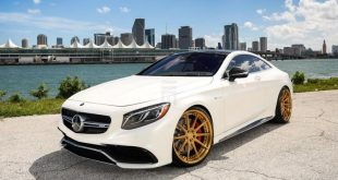 Exclusive Motoring Mercedes Benz S63 AMG Coupe On ADV.1 1 310x165 Adv.1 Wheels in Gold am Mercedes Benz S63 AMG