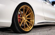 Exclusive Motoring Mercedes Benz S63 AMG Coupe On ADV.1 10 190x124 Adv.1 Wheels in Gold am Mercedes Benz S63 AMG