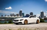 Exclusive Motoring Mercedes Benz S63 AMG Coupe On ADV.1 2 190x124 Adv.1 Wheels in Gold am Mercedes Benz S63 AMG