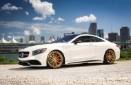 Exclusive Motoring Mercedes Benz S63 AMG Coupe On ADV.1 3 190x124 Adv.1 Wheels in Gold am Mercedes Benz S63 AMG