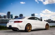 Exclusive Motoring Mercedes Benz S63 AMG Coupe On ADV.1 5 190x124 Adv.1 Wheels in Gold am Mercedes Benz S63 AMG
