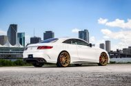 Exclusive Motoring Mercedes Benz S63 AMG Coupe On ADV.1 6 190x124 Adv.1 Wheels in Gold am Mercedes Benz S63 AMG