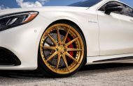 Exclusive Motoring Mercedes Benz S63 AMG Coupe On ADV.1 8 190x124 Adv.1 Wheels in Gold am Mercedes Benz S63 AMG