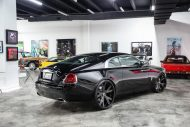 Exclusive Motoring Rolls Royce Wraith On Forgiato wheels 1 190x127 Rolls Royce Wraith mit 26 Zoll Forgiato Wheels Alufelgen