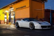 Ferrari 458 Italia On ADV5 Track Spec SL By ADV.1 Wheels 03 190x127 Ferrari 458 Italia mit LB Body und 22 Zoll by Wheels Boutique