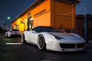 Ferrari 458 Italia On ADV5 Track Spec SL By ADV.1 Wheels 04 190x127 Ferrari 458 Italia mit LB Body und 22 Zoll by Wheels Boutique