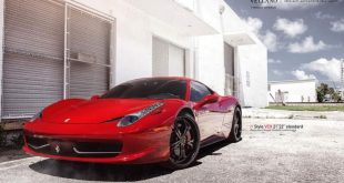 Ferrari 458 on Vellano VCX Standard Wheels 2 310x165 VELLANO FORGED WHEELS VCX on red Ferrari 458