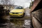 Gorgeous Austin Yellow BMW F82 M4 With Mode Carbon Aero Installed 2 135x90 Mode Carbon Parts am BMW M4 F82 in Austin Yellow