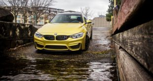 Gorgeous Austin Yellow BMW F82 M4 With Mode Carbon Aero Installed 2 310x165 Mode Carbon Parts am BMW M4 F82 in Austin Yellow
