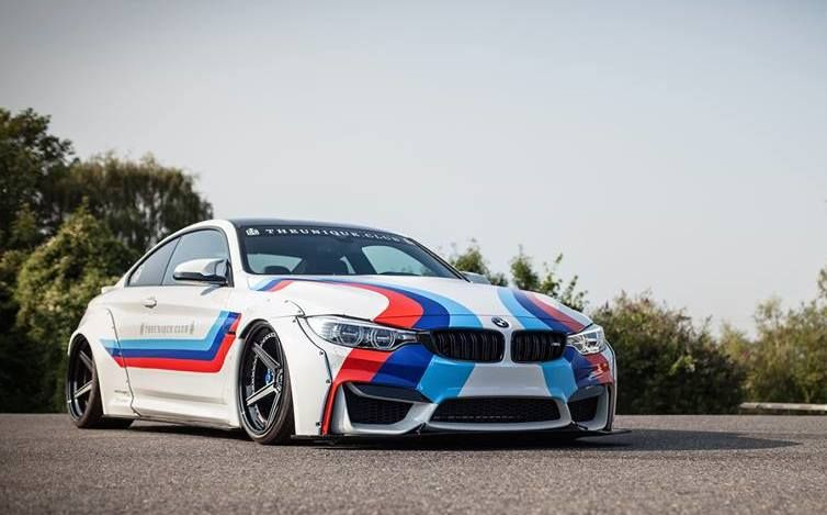Liberty Walk BMW M4 M Livery 3 Hardcore   BMW M4 F82 Tuning by JP Performance