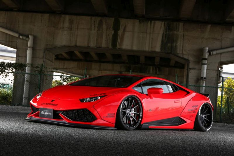 Liberty Walk Breitbau Lamborghini Huracan Widebody (9)