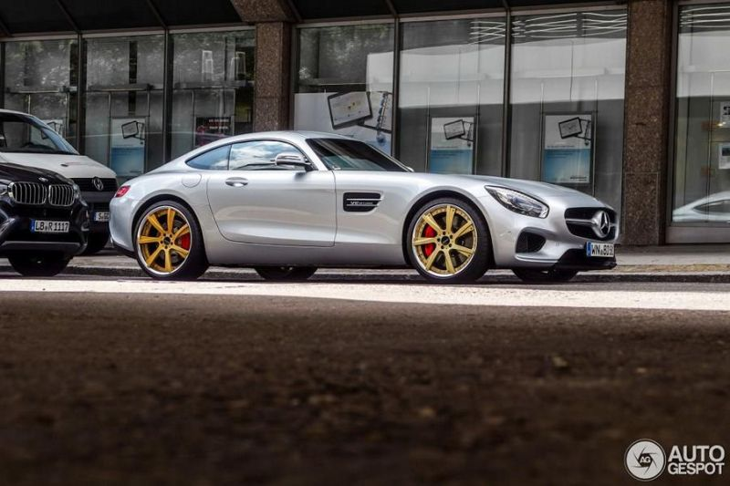 Lorinser Mercedes AMG GT spot 1 Mercedes Benz AMG GT S   Tuning by Lorinser