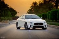 Maserati Quattroporte On VFS2 By Vossen Wheels 1 190x127 Vossen Wheels VFS2 Alu´s am Maserati Quattroporte