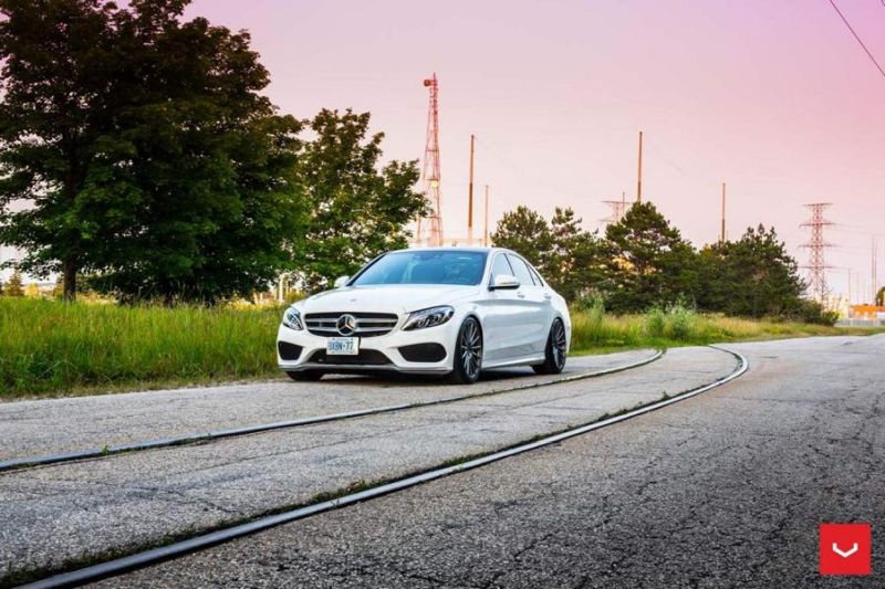 Mercedes Benz C Class On VFS2 By Vossen Wheels 1 Vossen VFS2 (VFS 2) Alufelgen am Mercedes Benz C400