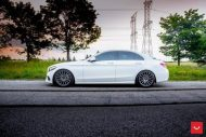 Mercedes Benz C Class On VFS2 By Vossen Wheels 3 190x127 Vossen VFS2 (VFS 2) Alufelgen am Mercedes Benz C400
