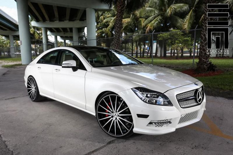 Mercedes Benz CLS On VFS2 By Vossen Wheels 1 Exclusive Motoring   Mercedes CLS mit VFS2 Vossen Wheels