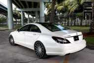 Mercedes Benz CLS On VFS2 By Vossen Wheels 8 190x127 Exclusive Motoring   Mercedes CLS mit VFS2 Vossen Wheels