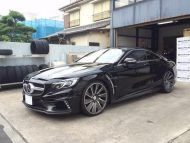 Mercedes Benz S Class Coupe by Wald International 10 190x143 Fertig   Wald Internationale Mercedes S Klasse Coupe Black Bison