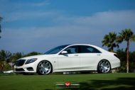 Mercedes Benz S550 Renntech Executive Package Vossen Forged VPS 312 8 190x127 Vossen VPS 312 am RENNTECH Mercedes Benz S550