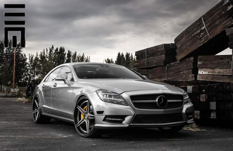 Mercedes CLS63 On ADV05 Track Spec SL By ADV.1 Wheels 1 ADV.1 Wheels Typ ADV05 am Mercedes CLS63 AMG