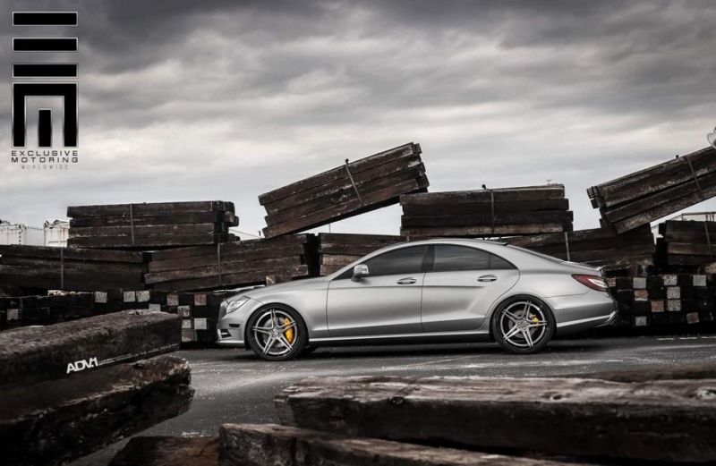Mercedes-CLS63-On-ADV05-Track-Spec-SL-By-ADV.1-Wheels-4