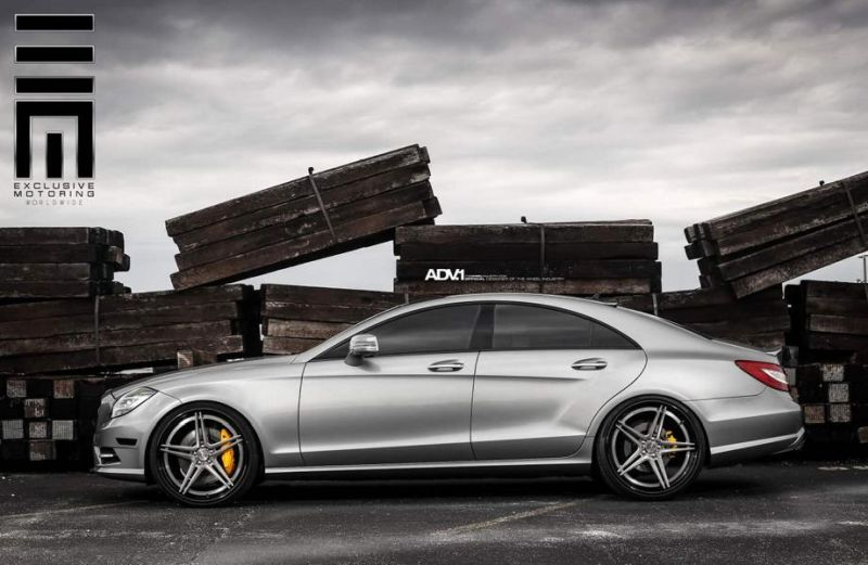 Mercedes-CLS63-On-ADV05-Track-Spec-SL-By-ADV.1-Wheels-5