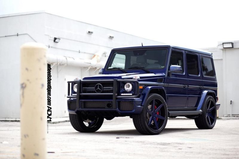 Mercedes G63 AMG On ADV6 Deep Concave By ADV.1 Wheels 1 ADV.1 Wheels ADV06 am Mercedes Benz G63 AMG