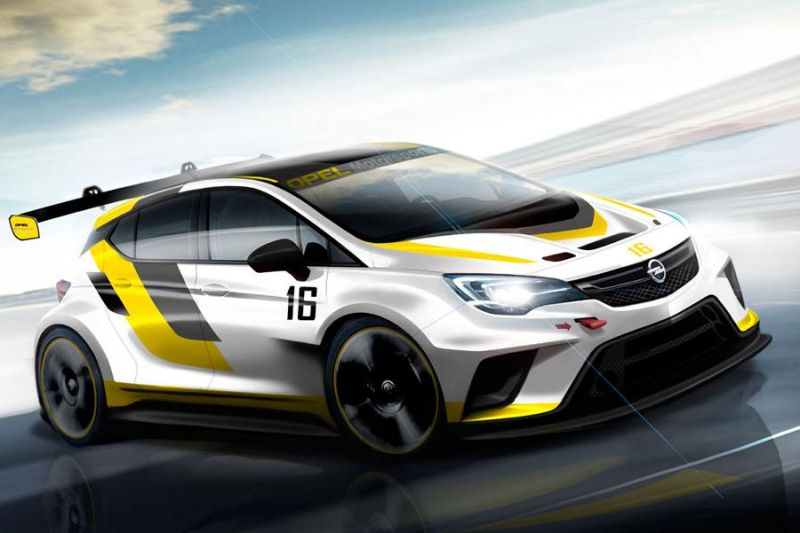 Opel Astra TCR tuning 1 OPEL ASTRA TCR   Neues Auto für neue Rennserie!