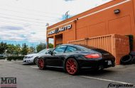Porsche 997 Carrera S Forgestar CF10 RED EBC Brakes 1 190x125 19 Zoll Forgestar CF10 Wheels am Porsche 997 Carrera S