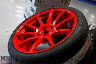 Porsche 997 Carrera S Forgestar CF10 RED EBC Brakes 3 190x127 19 Zoll Forgestar CF10 Wheels am Porsche 997 Carrera S