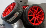 Porsche 997 Carrera S Forgestar CF10 RED EBC Brakes 4 190x118 19 Zoll Forgestar CF10 Wheels am Porsche 997 Carrera S