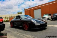 Porsche 997 Carrera S Forgestar CF10 RED EBC Brakes 5 190x127 19 Zoll Forgestar CF10 Wheels am Porsche 997 Carrera S