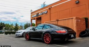 Porsche 997 Carrera S Forgestar CF10 RED EBC Brakes 6 310x165 19 Zoll Forgestar CF10 Wheels am Porsche 997 Carrera S