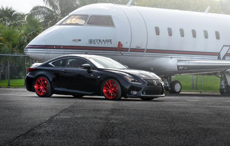 Strasse Wheels Lexus RC-F 2